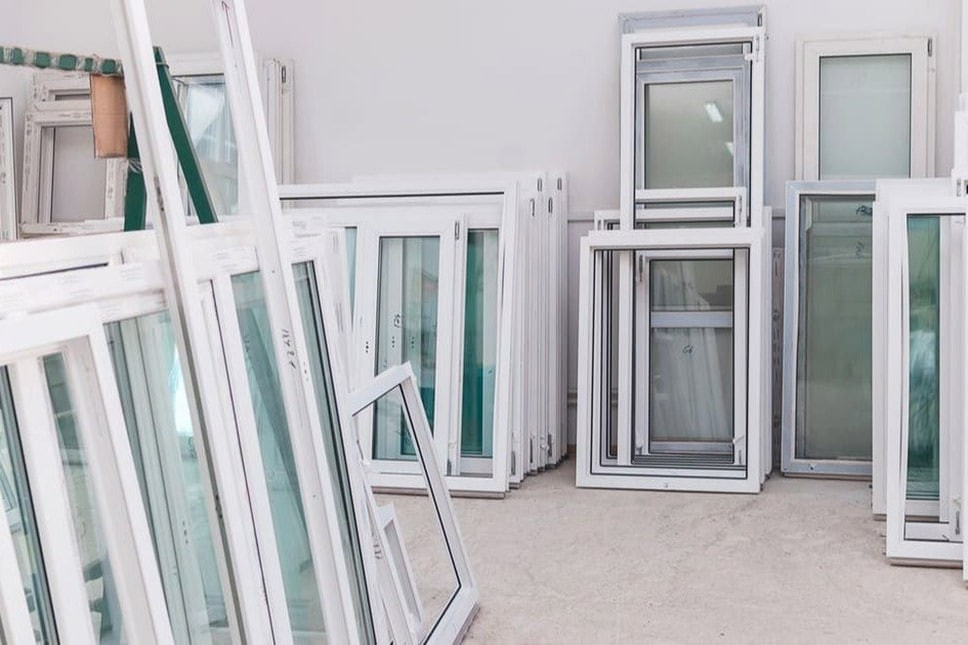 Multiple different types of windows
